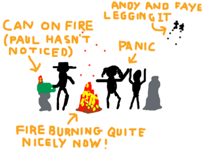Paul vs. Fire - Frame 2