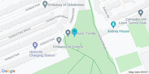 Map of 51.50573,-0.2039