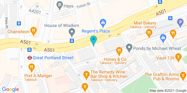 Map of 51.523983,-0.141733