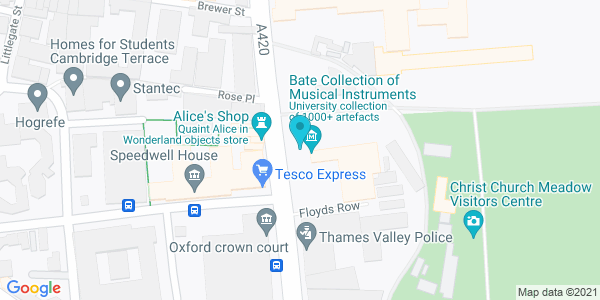Map of 51.748833,-1.256333