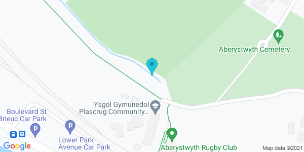 Map of 52.4108,-4.07465