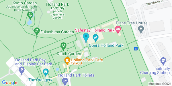 Map of 51.50245,-0.2026