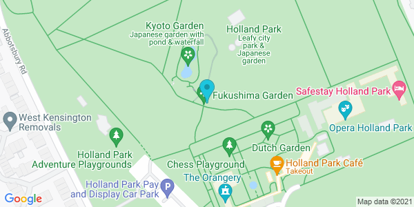 Map of 51.50263,-0.2044