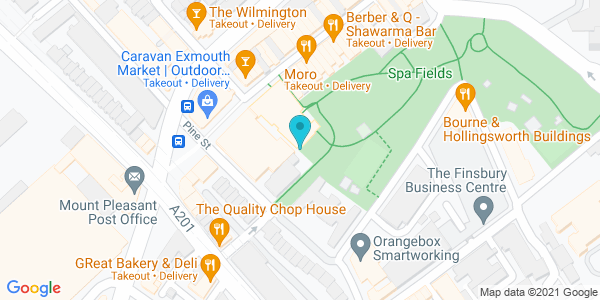 Map of 51.5253,-0.10907