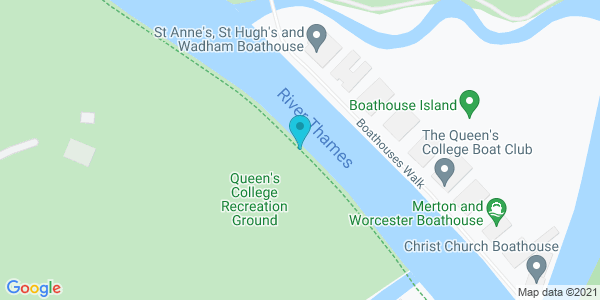 Map of 51.74332,-1.25085
