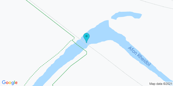 Map of 52.40378,-4.05708
