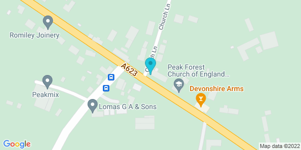 Map of 53.310233,-1.830767