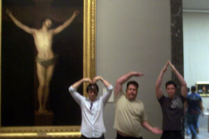 Jesus dances the YMCA