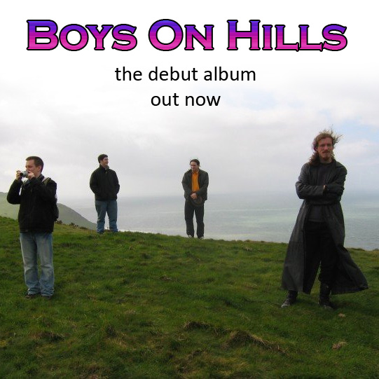 Boys On Hills - the debut album