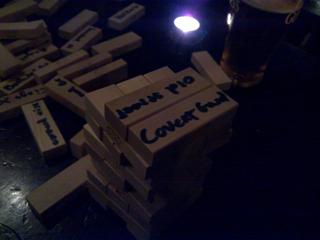 Pub Jenga - The Next Big Thing