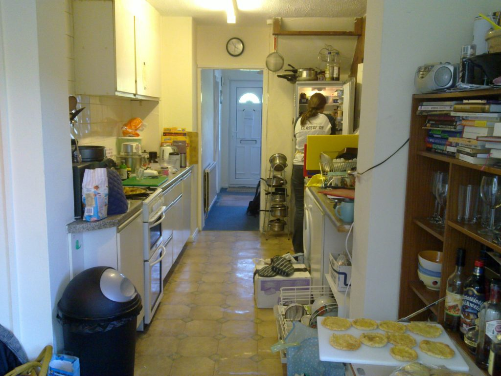 Earth's galley kitchen.