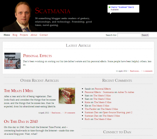 Scatmania.org until early 2012