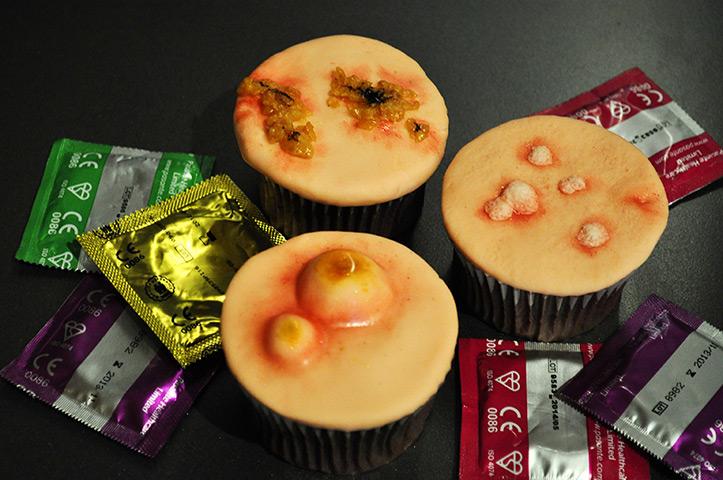 STD cupcakes