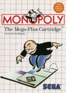 Monopoly for the Sega Master System.