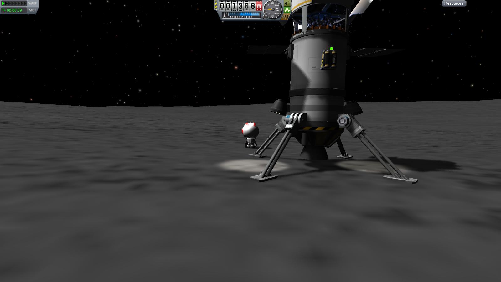 Mun landing