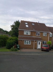 Our new house in Kidlington, just North of Oxford.