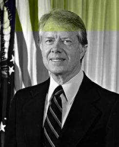 U.S. President Jimmy Carter