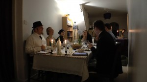 Guests at the Murder Mystery