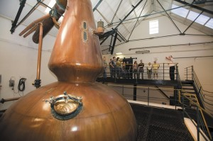 Still #1 at the Glenkinchie Distillery.