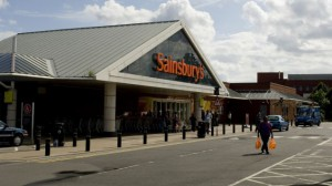 The Sainsburys on Deepdale Road/Sir Tom Finney Way, in Preston.