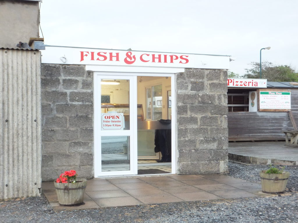 A Fish & Chip shop in Croyde