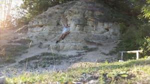 Dan at Kirtlington Quarry