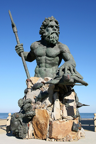 Neptune, God of the Sea