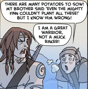 Oglaf: Mighty Deeds