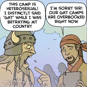 Oglaf: Rally Round The White Flag