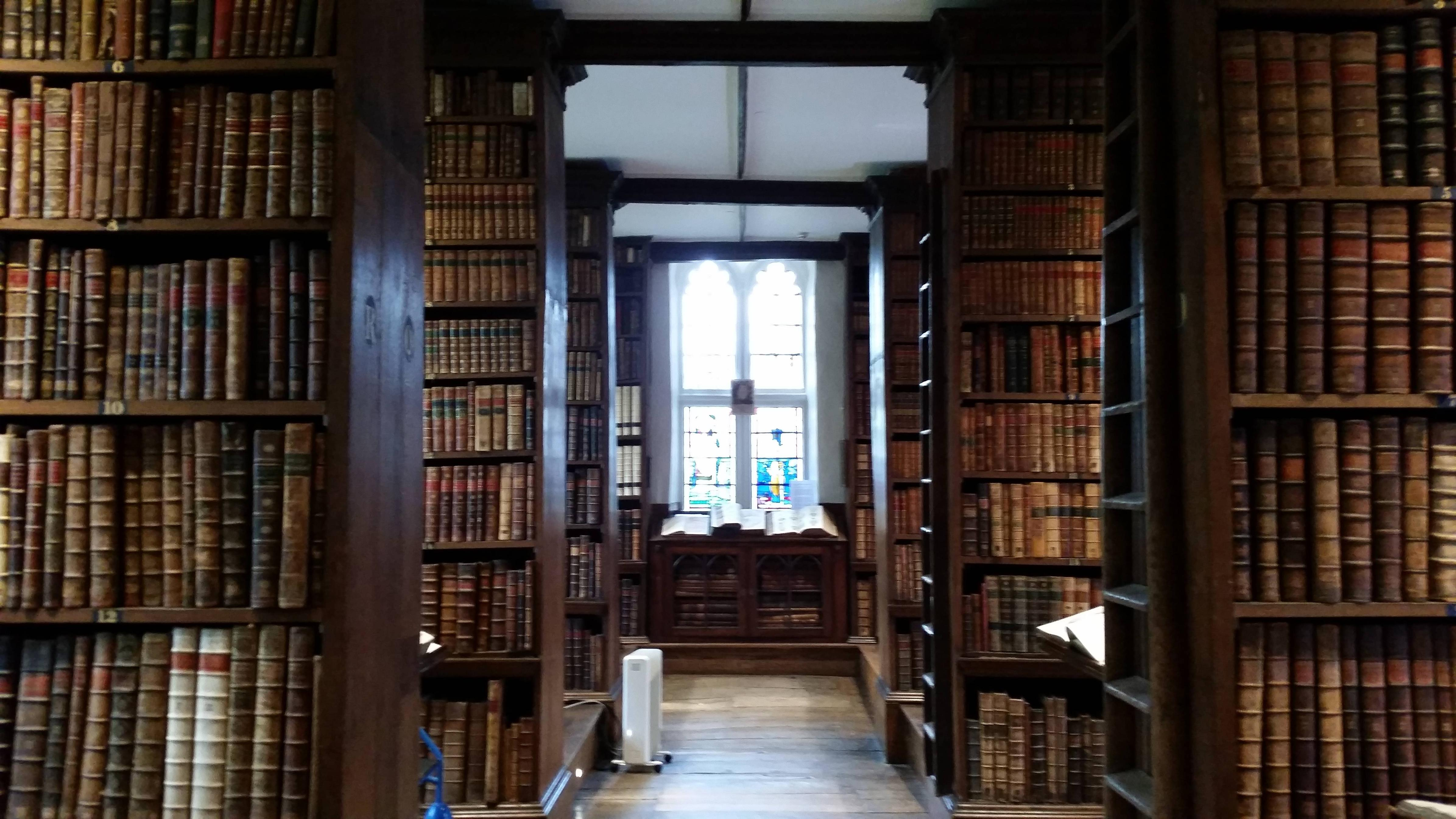 A library at the University of Oxford
