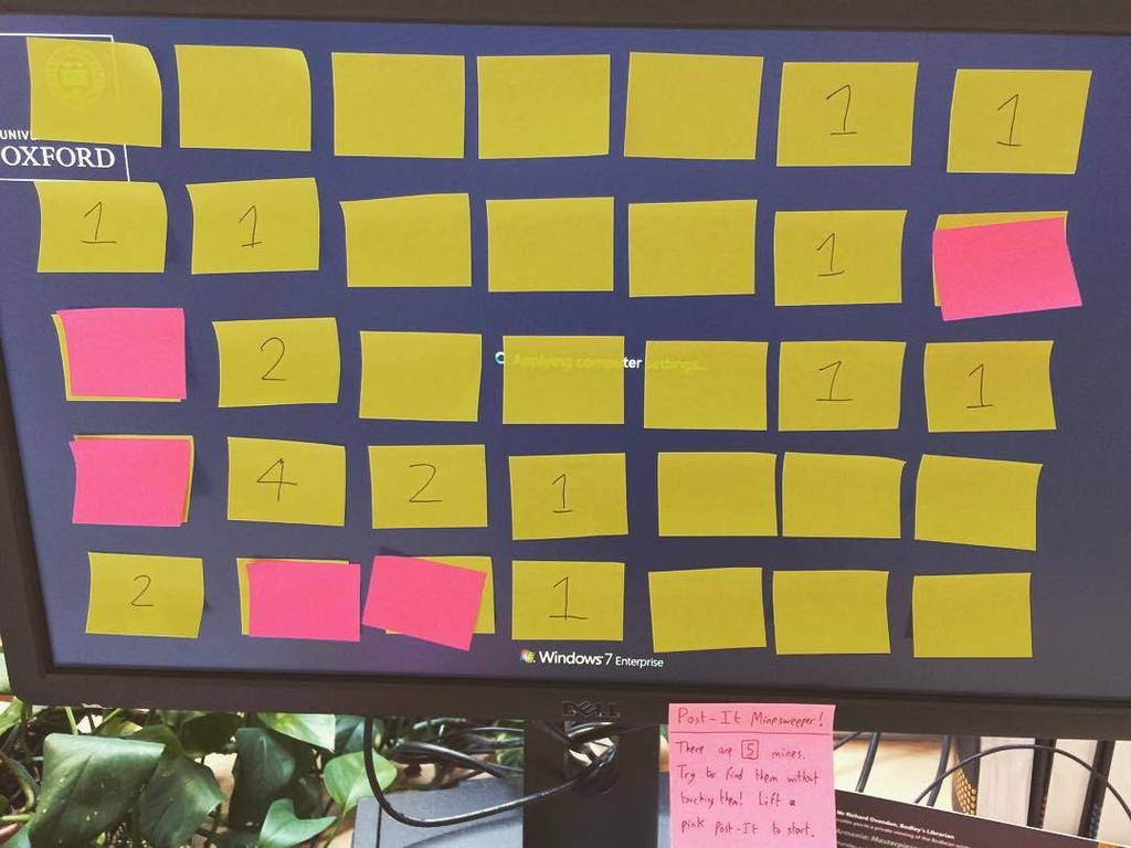 Post-It Minesweeper