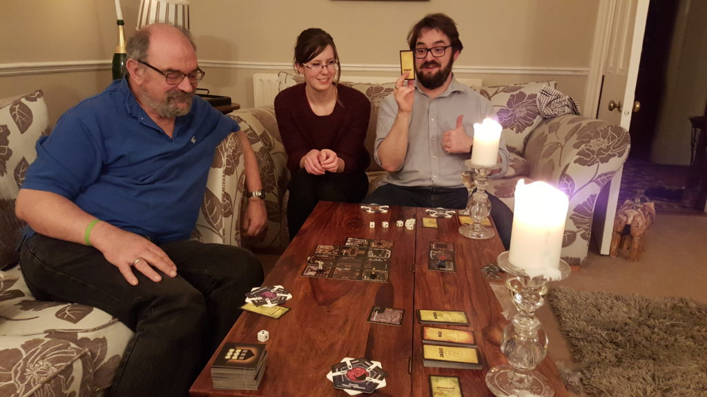 DevCamp and DocsCamp 2016 volunteers play Betrayal at the House on the Hill