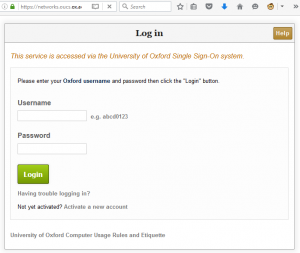 A fake SSO login page, delivered from a legitimate-looking https URL.