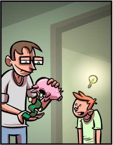 Optipess: Piggy Bank