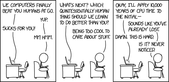 XKCD: Computers vs Humans