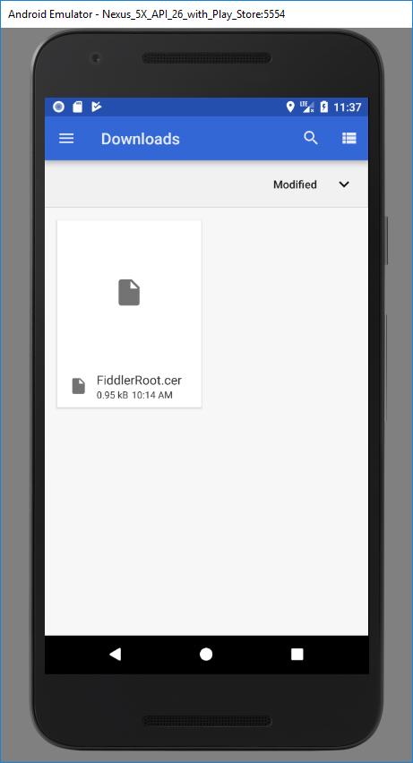 Intercepting HTTPS Traffic from Android Emulator – Dan Q