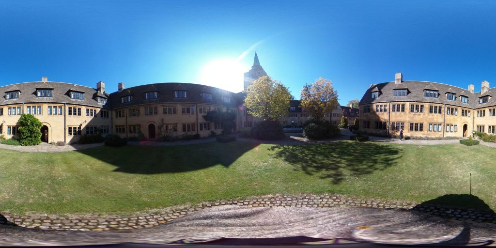 Nuffield College quad