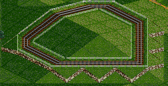 OpenTTD slope building