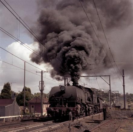 """AD60 """"6012"""" under steam."""