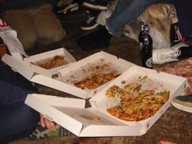 Mmm... pizza.