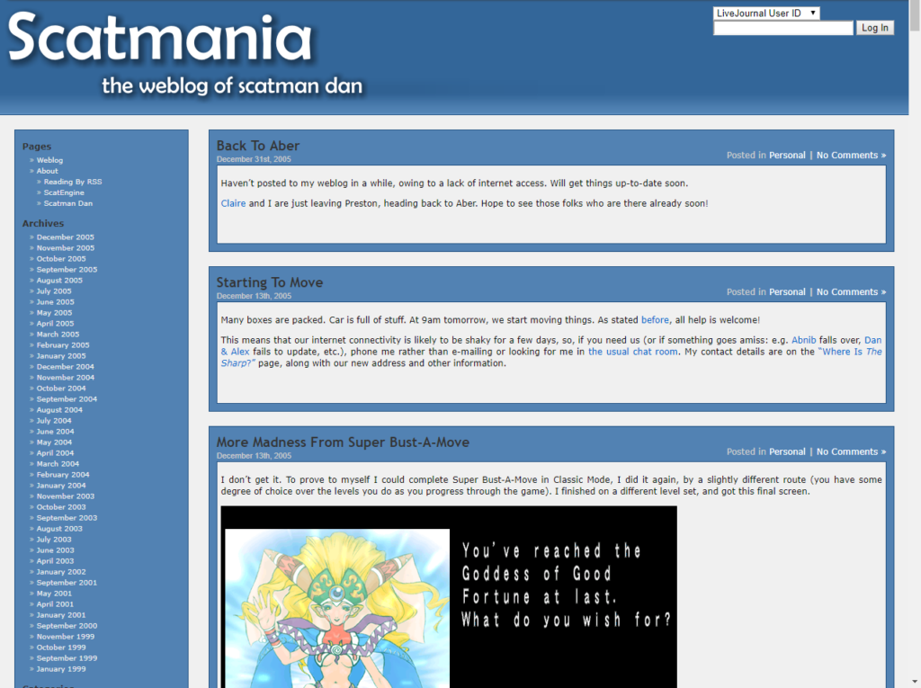 Scatmana.org version 2 - now with actual web design