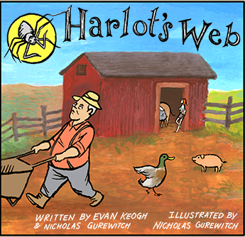Harlot's Web, on Perry Bible Fellowship (click through for full comic)