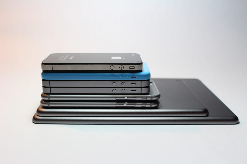 Many mobile devices.