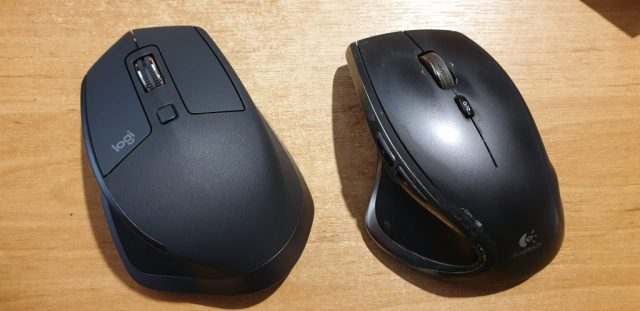 (New) Logitech MX Master 2S and (old) Logitech Performance MX