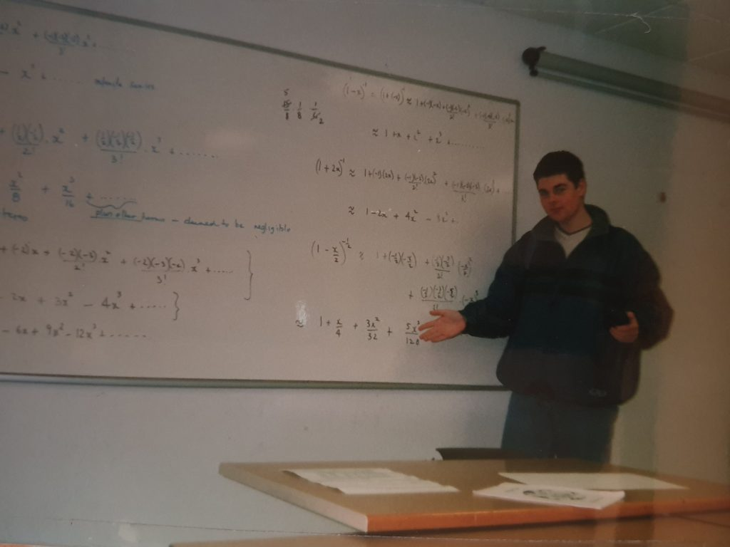 Andy Heywood attempts to explain Pure Maths