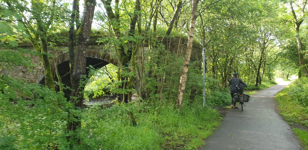 Ruth on the Strathkelvin Railway Path