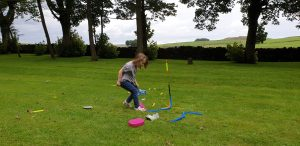 Annabel launches a stomp rocket #3.