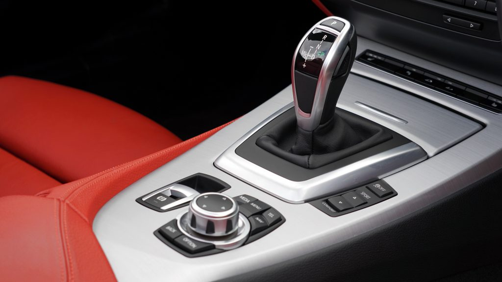 Automatic gear stick.