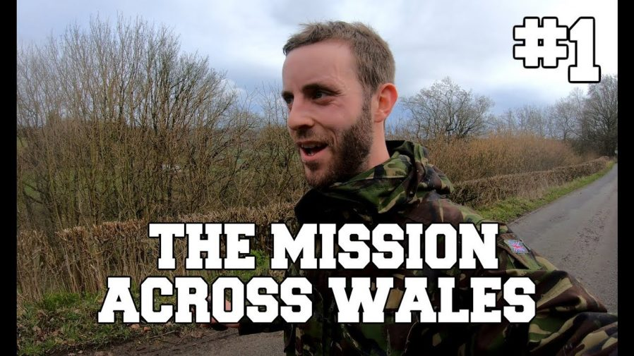 The Mission Across Wales title card