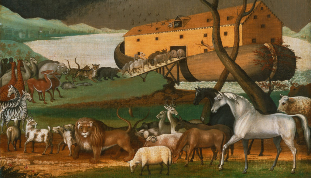 Noah's Ark (1846), by Edward Hicks